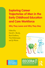 """Buchcover """"Exploring Career Trajectories of Men in the Early Childhood Education and Care Workforce"""""""