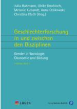 """Buchcover LAGEN'da Band 5 """"Geschlechterforschung in und zwischen den Disziplinen. Gender in Soziologie, Ökonomie und Bildung"""""""