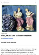 Artikelcover Susanne Rode-Breymann